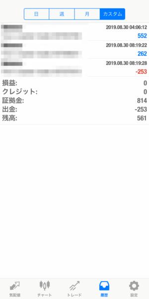 2019.8.30-Ideal自動売買運用履歴