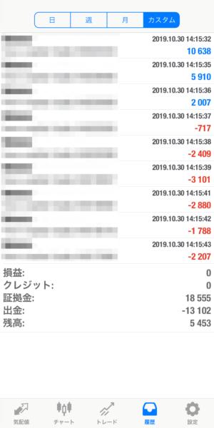 2019.10.30-Ideal自動売買運用履歴