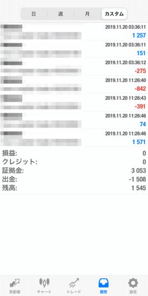 2019.11.20-Ideal自動売買運用履歴