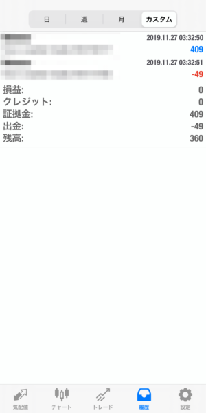 2019.11.27-Ideal自動売買運用履歴