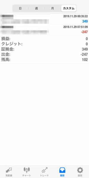2019.11.29-Ideal自動売買運用履歴