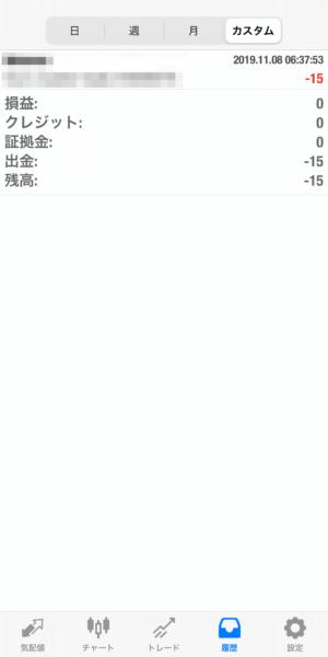 2019.11.8-Ideal自動売買運用履歴